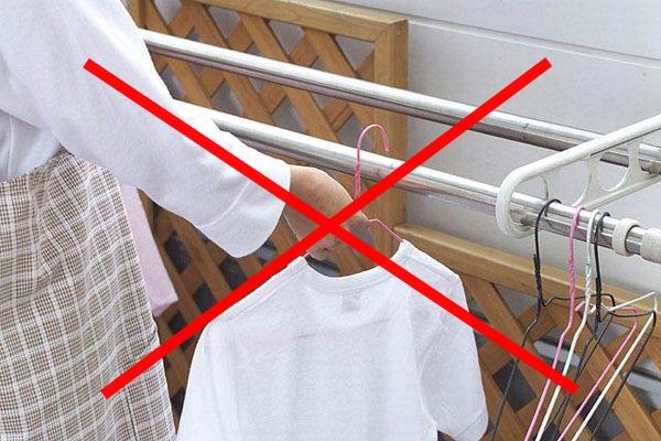 切迫妊婦 洗濯しない
