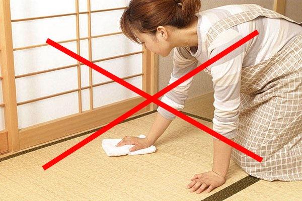 切迫妊婦 掃除しない