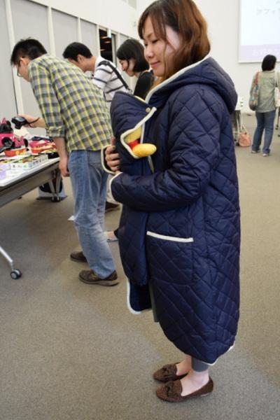 安い 便利 妊娠中 抱っこ紐でも使えるママコート